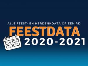 Feestdata 2020-2021